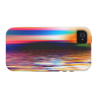 Abstract Horizon Vibe iPhone 4 Cover