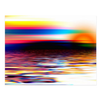 Abstract Horizon Postcard