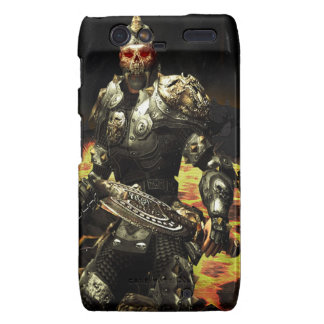 Abstract Horror Death Comes Armour Droid RAZR Cases