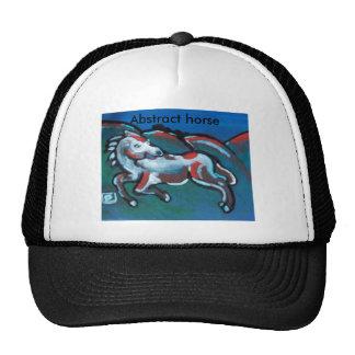 abstract horse cap