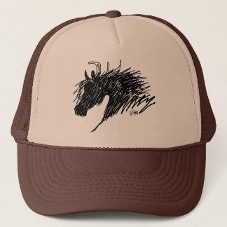 Abstract Horse Head art Trucker Hat