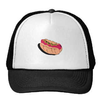 Abstract Hot Dog Hats