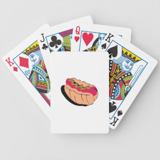 Abstract Hot Dog Card Deck