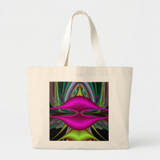 Abstract Hot Pink Lips Fractal Art Design Gifts Bags