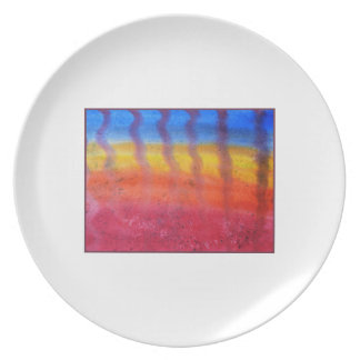 Abstract. Hot Sand in Summer. Plate