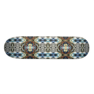 Abstract hybrid world skateboard