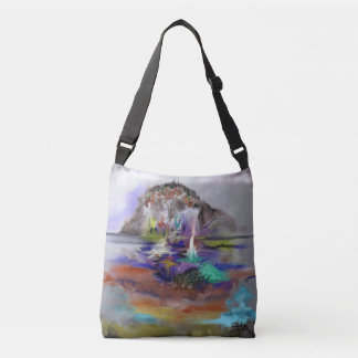Abstract Ideas Fantasy Crossbody Bag