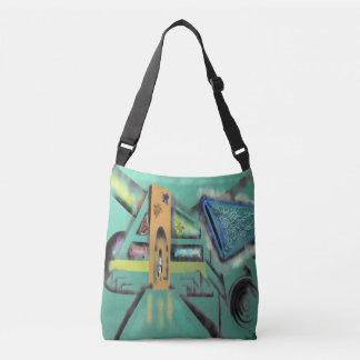 Abstract Ideas Lost Arch Crossbody Bag