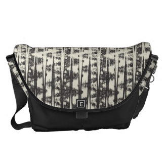 Abstract Ikat Courier Bag