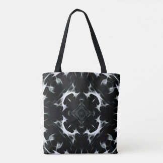 Abstract illusion -BW- All-Over-Print Tote Bag