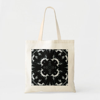 Abstract illusion -BW- Budget Tote