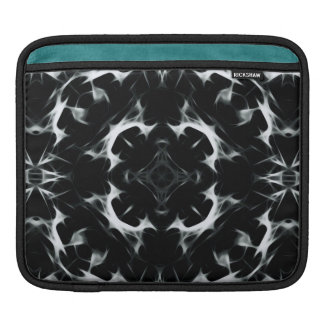 Abstract illusion -BW- iPad pad Horizontal iPad Sleeve