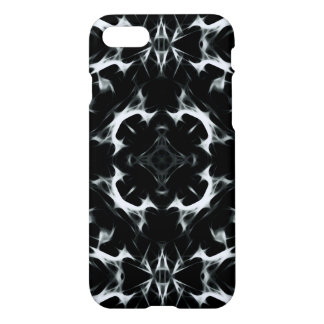 Abstract illusion -BW- iPhone 7 Glossy Case