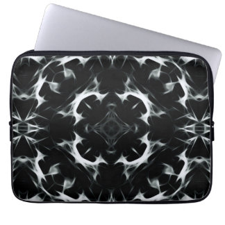 Abstract illusion L Neoprene Laptop Sleeve 13 inch