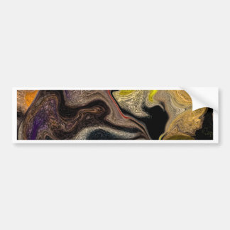 abstract image bumper sticker