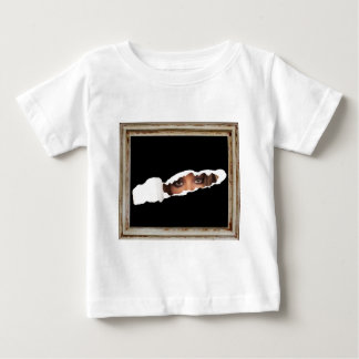 Abstract image of a woman's eyes. baby T-Shirt