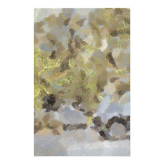 Abstract image of car passing through a dust stor stationery paper