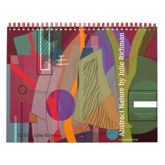 Abstract Images Calendar