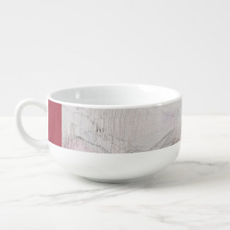 Abstract imagination soup mug