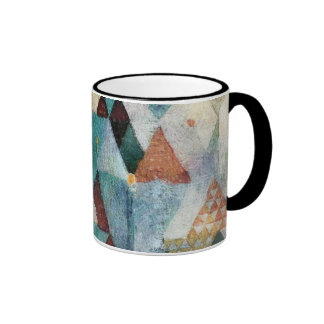 Abstract Impressionist Watercolor Geometry 51-1 Ringer Mug