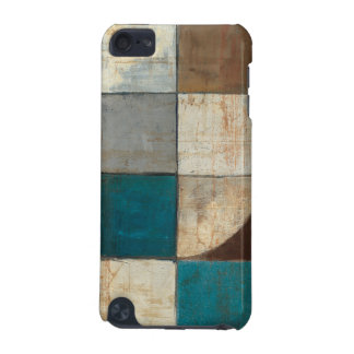 Abstract in Blue and Brown iPod Touch 5G Cases