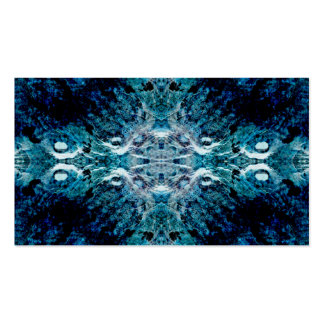 Abstract in Blue and Teal. Some soft edges. Pack Of Standard Business Cards