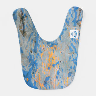 Abstract in Blue Baby Bib