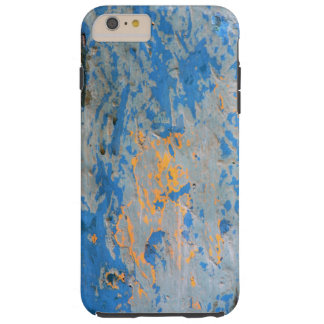 Abstract in Blue Tough iPhone 6 Plus Case