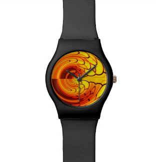 Abstract in Gold Watch