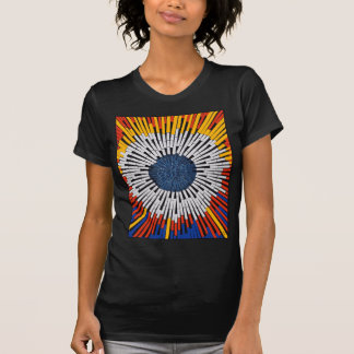 Abstract in Tape—Starburst T-Shirt