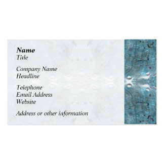 Abstract in Teal, with some soft edges. Pack Of Standard Business Cards