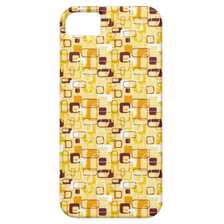 Abstract In Yellow iPhone 5 Cover