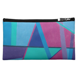 Abstract Initial A 12117 - Medium Cosmetic Bag