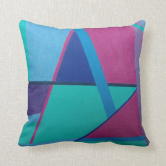 Abstract Initial A 1217 - Throw Pillow