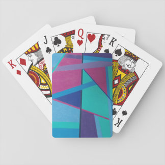 Abstract Initial A - Playing Cards