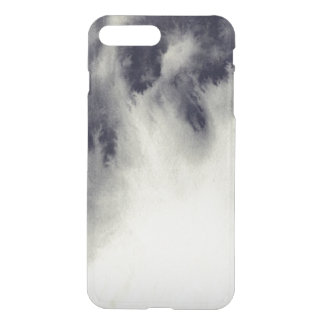 Abstract ink painting on grunge paper texture. iPhone 8 plus/7 plus case