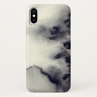 Abstract  Ink Painting On Paper| Add Photo iPhone X Case