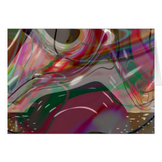 Abstract Interlude #2 Greeting Card