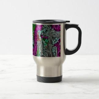 Abstract Invasion Coffee Mugs