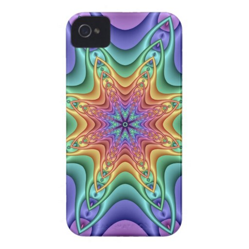 Abstract iPhone 4 case-mate case Rainbow Energy