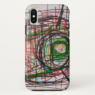 Abstract iPhone X Case
