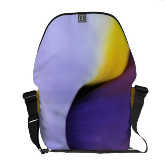Abstract Iris Courier Bags