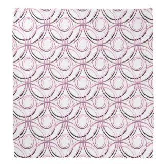 abstract japanese circles pattern bandana