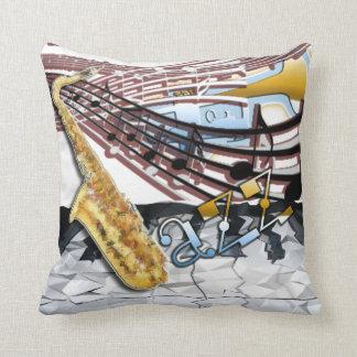 Abstract Jazz Pillow Cushion