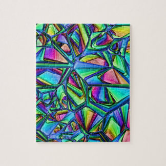 Abstract Jigsaw Jigsaw Puzzle