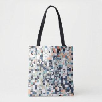 Abstract Jumbled Mosaic Tote Bag