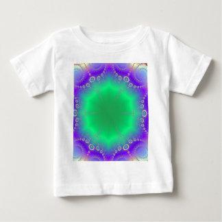 Abstract Kaleidescope Hippie Spiral Fractal Patter Infant T-Shirt