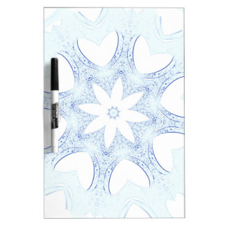 abstract kaleidoscope background dry erase board