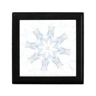abstract kaleidoscope background gift box