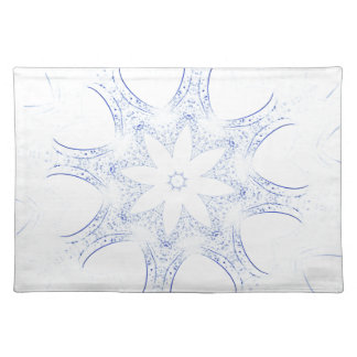 abstract kaleidoscope background placemat
